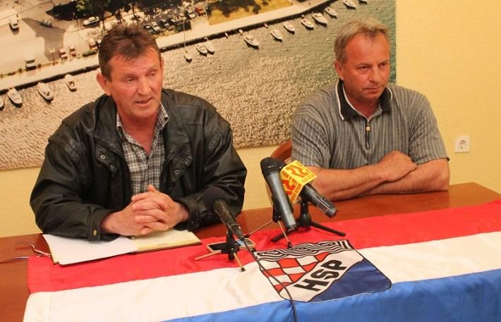 HSP Grada Knina - konferencija za novinare (Foto Tris - H. Pavić) (2)