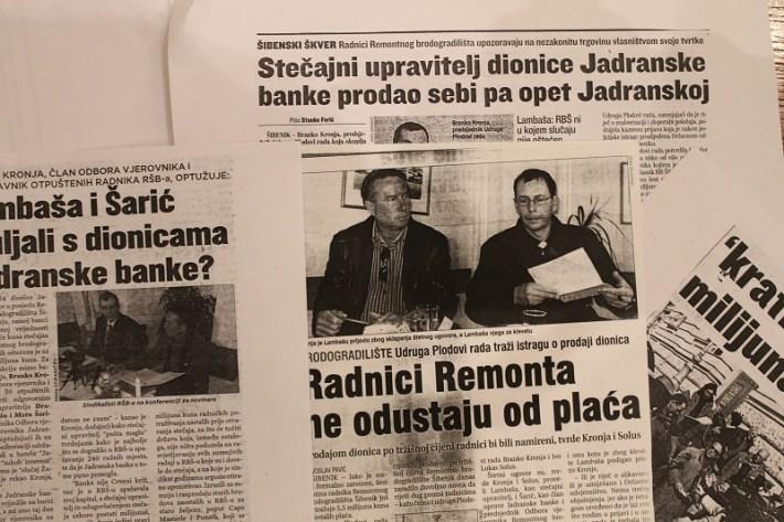 Branko Kronja, Krupne ribe i sitna slova (13)