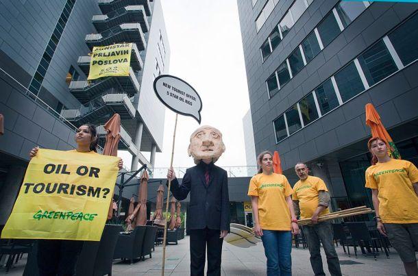 Prosvjednici za koje ministar drži da su u službi 'uvozničkih lobija' foto Marina Paulenka