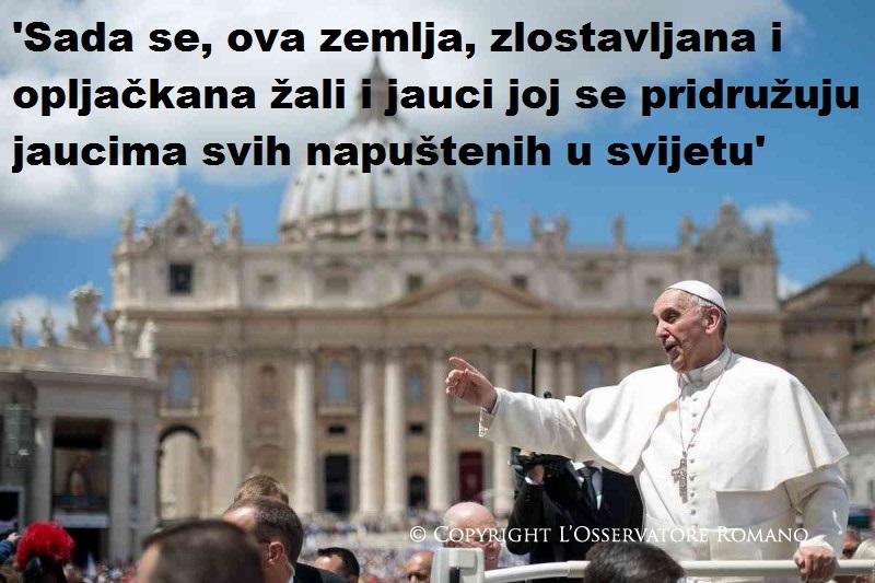 Ekološka enciklika 'Laudato si': Može li papa Franjo spriječiti bušenje Jadrana?