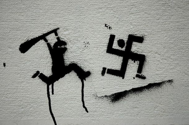 Grafit sa zida jednog europskog grada
