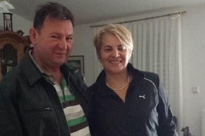 Hrvatski branitelj i zatočenik kninskih kazamata Velibor Bračić sa suprugom (Foto: Facebook)