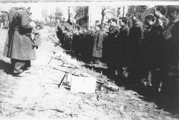 Dio 43. istarske divizije na smotri u Puli