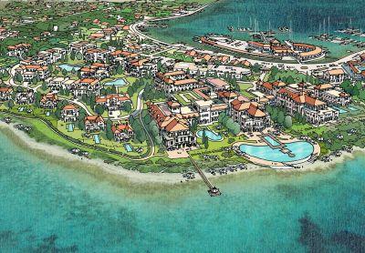 Nacrtani projekt gradnje na predjelu Medine (izvor www.marinafrapa.com)