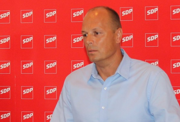 Joško Šupe, predsjednik Kluba vijećnika SDP-a u Gradskom vijeću Šibenika (Foto: Tris/H. Pavić)
