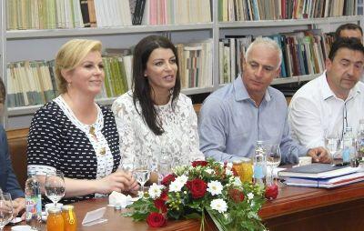 Hrvatska predsjednica u Kninu: 'Proslava Oluje pokazat će lice tolerantne, uključive Hrvatske'