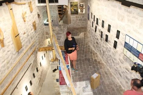 Zgrada muzeja ima 250 kvadrata na tri etaže