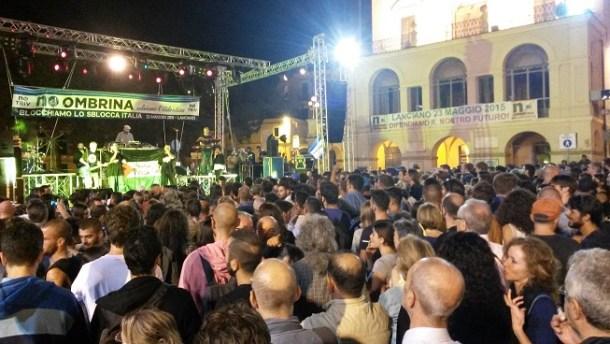 S prosvjednog koncerta u Italiji