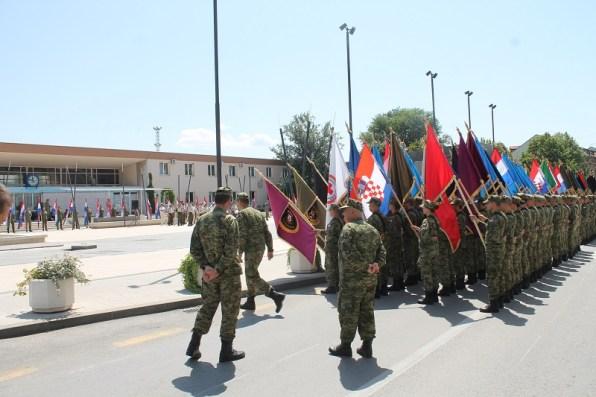 Generalna proba pred spomenikom 'Oluja '95.' na Trgu dr. Ante Starčevića (Foto: H. Pavić)