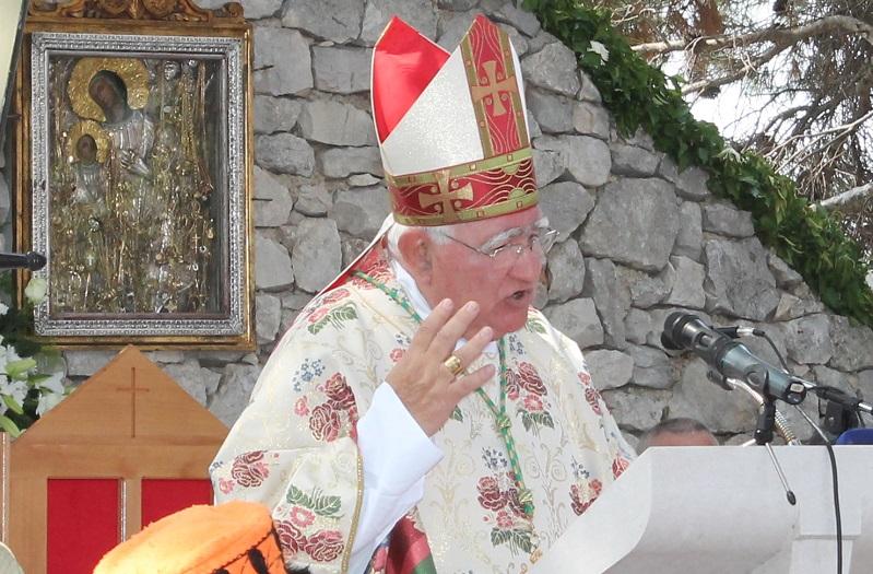 Mons. Ante Ivas (Foto: Tris/H. Pavić)