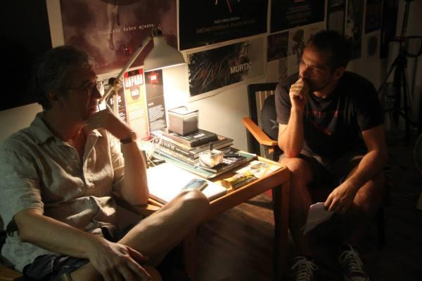 Razgovor s Alemom Ćurinom u studiju 2FG, bazi FALIŠ festivala (Foto: Jozica Krnić)