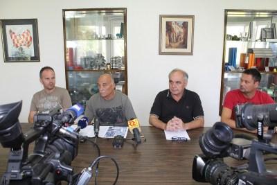 Konferencija za novinare  Hrvatskog sindikata metalaca (Foto: Tris/H. Pavić)