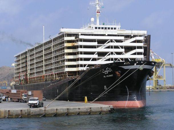 Primjer broda kolokvijalnog naziva 'sheep-ship', naziva Al Kuvait (foto Wikipedia)