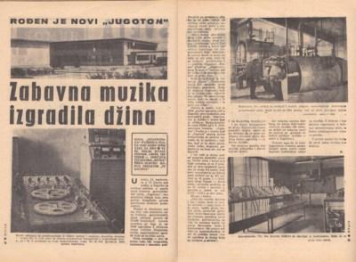 Prije 52 godine puštena je u pogon Tvornica gramofonskih ploča Jugoton