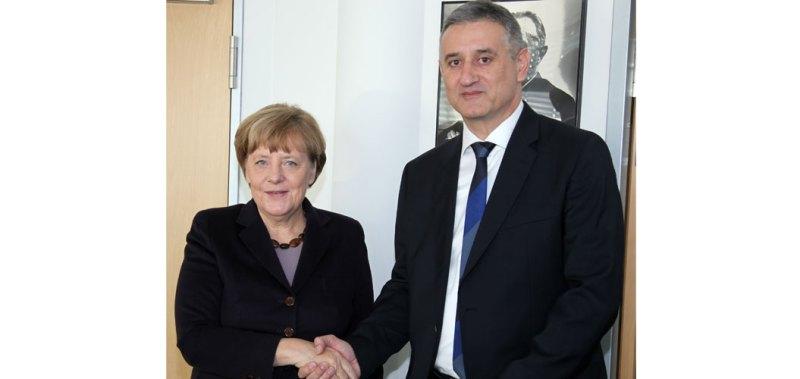 Angela Merkel i Tomislav Karamarko (Foto: HDZ)