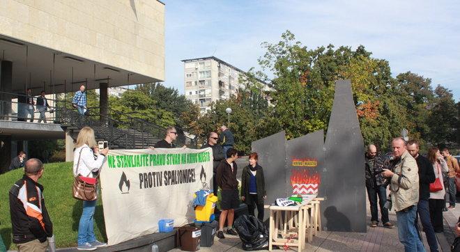 Prosvjed (foto Zelena akcija)