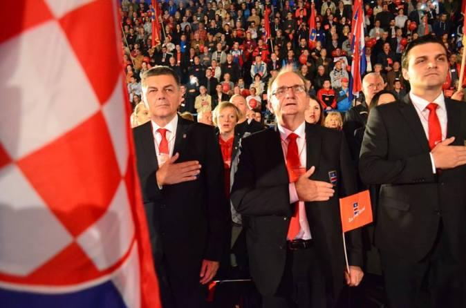 Glavaš i 'Sokolska garda' na 7. sabor HDSSB-a (Foto HDSSB)