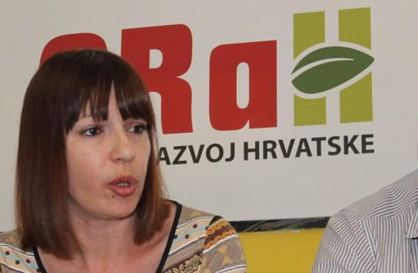 Danijela Grbelja, nositeljica izborne liste ORaH-a za 9. izbornu jedinicu (Foto: Tris/H. Pavić)