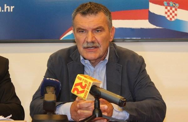 Novi predsjednik ŽO HDZ-a Nediljko Dujić (Foto H. Pavić)