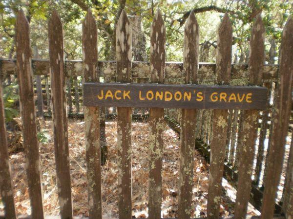 Grob američkog književnika Jacka Londona
