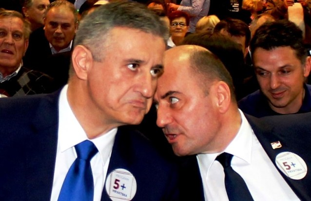 Tomislav Karamarko i Milijan Vaso Brkić (Foto TRIS/H. Pavić)