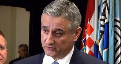 Tomislav Karamarko nakon današnje sjednice Predsjeedništva i Nacionalnog vijeća (Foto HDZ)