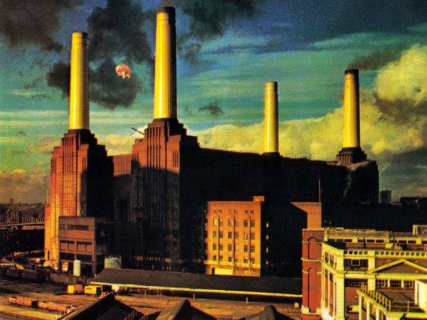 "Omot albuma ""Animals"" Pink Floyda iz 1977. godine"