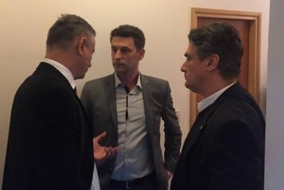 Karamarko, Petrov i Milanović - Fotografija koju je na FB-u objavio Ivan Lovrinović