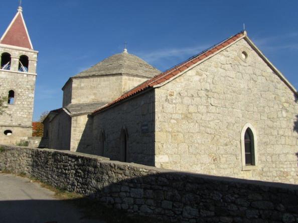 Halil-hodžina džamija ili crkva sv. Ante (Foro Muzej Grada Drniša)
