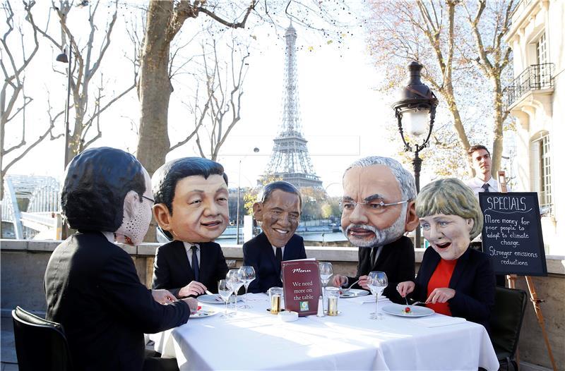 Ilustracija: Pariški sporazum: predstava ili nešto drugo (foto HINA)