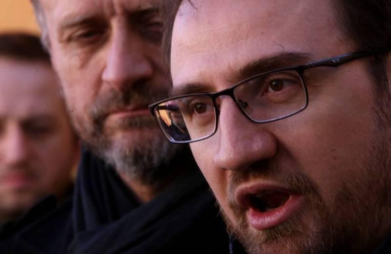 Mijat Stanić, Teodor Celakoski. foto HINA/ Daniel KASAP