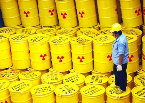 Bačve s radioaktivnim smećem (foto anuclear.org)