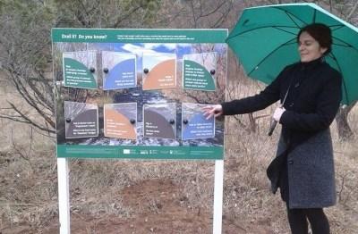 Inga Kukolj, tajnica Ekološke udruge 'Krka' Knin