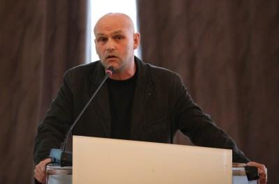 Predsjednik Hrvatskog novinarskog društva Saša Leković (Foto: H. Pavić/Tris)