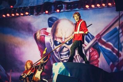 Iron Maiden u Areni Zagreb (Foto: Roberto Pavić/ravnododna.com)