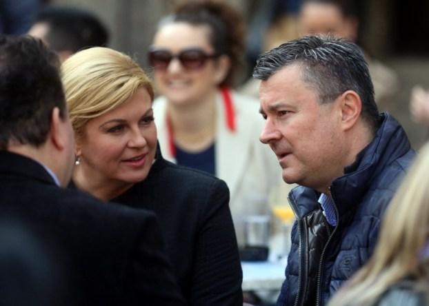 Kolinda i Oreskovic