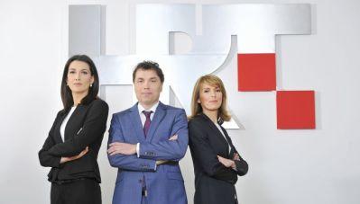 Novi voditeljski trojac Dnevnika na HTV-u (foto: HRT, Krasnodar Peršun)