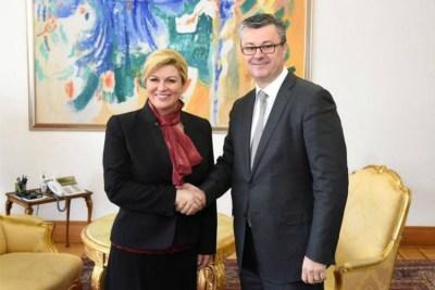 Supotpisnici ( Fotografija: Ured predsjednice Republike Hrvatske )