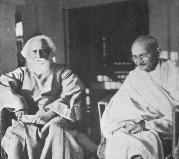 Eionsteinovi prijatelji Mahatma Gandhi i Rabindranatha Tagore
