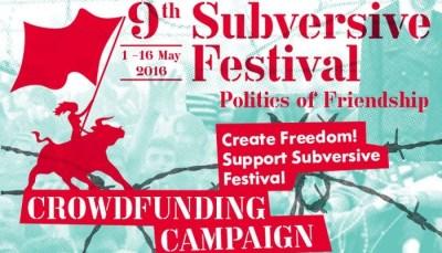 Crowdfunding za 9. Subversive festival: Stvarajmo slobodu zajedno!