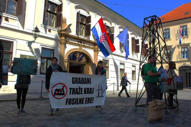 S današnje akcije (foto Zelena akcija)
