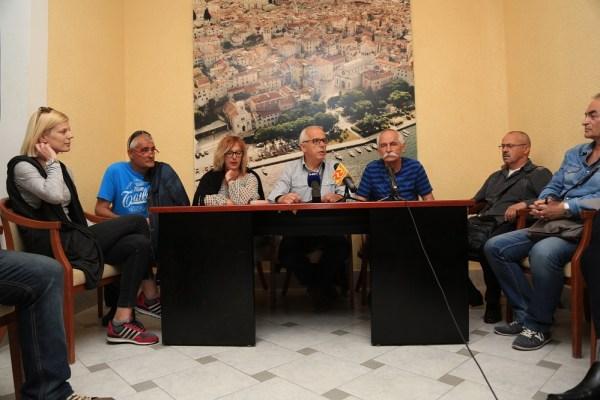 Konferencija za novinare radnika TLM-a (Foto: Tris/H. Pavić)