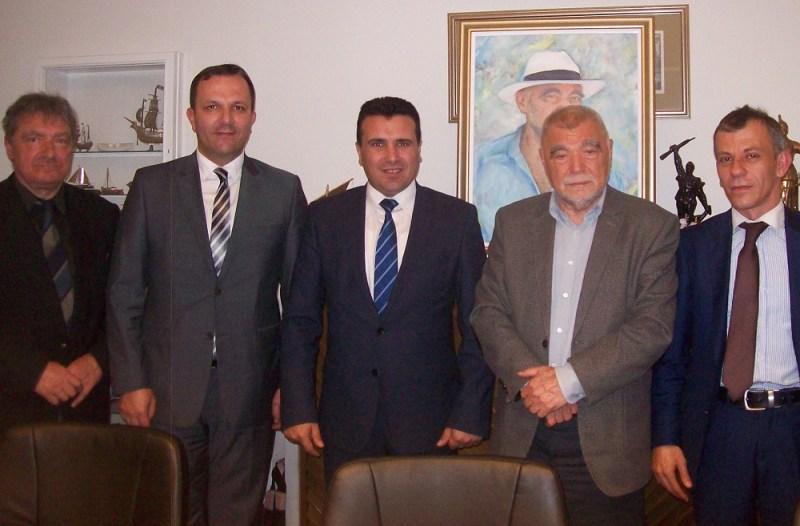 Lider makedonske oporbe, Zoran Zaev, sastao se u Zagrebu s Mesićem i Milanovićem