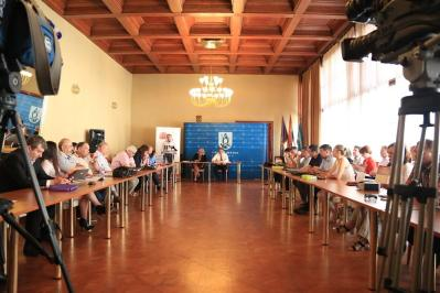 Današnja sjednica Grdaskog vijeća Grada Šibenika (Foto: Tris/H. Pavić)