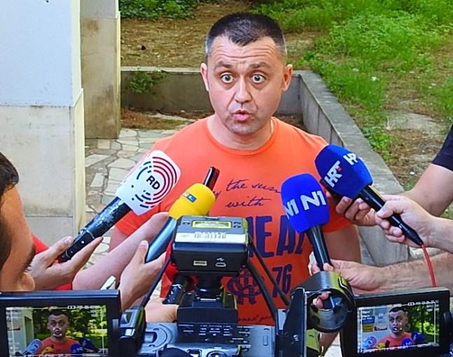 Ne treba sad politizirati - kazao je Dragovan o 'orjunašima' (foto TRIS/G. Šimac)