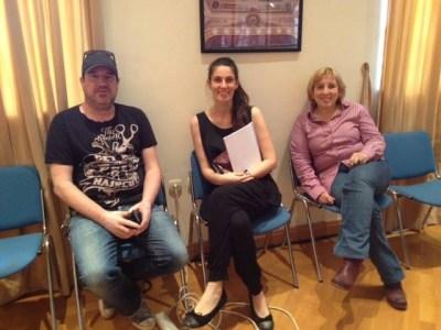 Autor glazbe Neno Belan, ravnateljica HNK u Šibeniku Maja Trlaja i redateljica Nina Kleflin