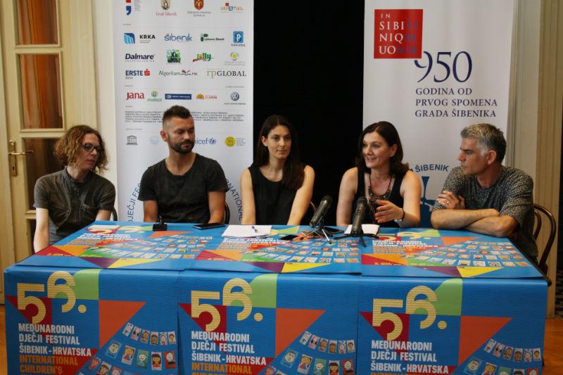 Nora Krstulović, Ivan Dečak, Maja Trlaja, Nataša Abramović i Milan Majerović Stilinović/Foto:J.Krnić