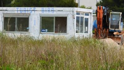 'Turist biro' na jednoj plaži (foto TRIS/G. Šimac)