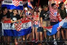 Djeca i mladi na koncertu Marka Perkovića Thompsona (Foto: Tris/H. Pavić)