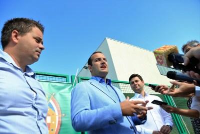 Toni Turčinov, Ivan Klarin i Ivan Gulam (Foto: Rudinapress/H. Pavić)